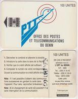 10/ Benin; P9. PTT Logo, 100 Ut.,SC7, CN C55150342 - Bénin