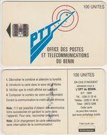 11/ Benin; P9. PTT Logo, 100 Ut.,SC7, CN C55150352 - Bénin