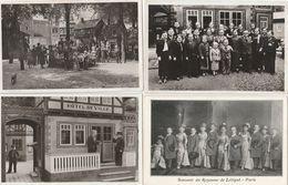 4 CPA GLACÉES:EXPOSITION INTERNATIONALE PARIS (75) 1937 ROYAUME DE LILLIPUT - Expositions