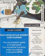 12/ Benin; P19. Service Plus 2, Chip GEM 1B.1 - Bénin