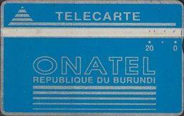 16/ Burundi; P1. Logo - Blue, CP 212K - Burundi