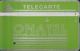 17/ Burundi; P2. Logo - Blue, CP 106C - Burundi