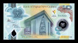 Papua New Guinea 10 Kina Commemorative 2015 Pick 48 Polymer SC UNC - Papua Nueva Guinea