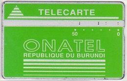 19/ Burundi; P2. Green Logo; CP 808L - Burundi