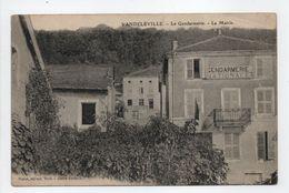 - CPA VANDELÉVILLE (54) - La Gendarmerie 1910 - La Mairie - Edition Poirot - - France