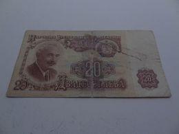Billet 20 Leva 1962 - Bulgarien
