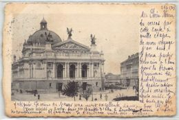 Ukraine - LVIV Lemberg - Teatr Miejski - Publ. Zaklad Swiatlodrukow Lwow. - Ukraine