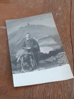 WANDERSMANN - SCHNEEKOPPE 1919 - RIESENGEBIRGE - POLEN - TSCHECHIEN - KULISSE - ZUM ANDENKEN AN WALTER - 1921 - Personnes Identifiées
