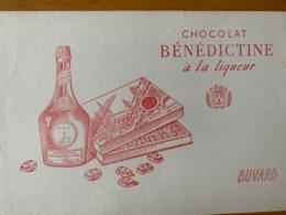 1 BUVARD CHOCOLAT BENEDICTINE - Cacao