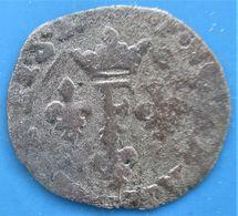 DOMBES,PRINCIPAUTÉ DE DOMBES, FRANÇOIS II DE MONTPENSIER,Liard à L'F, B - 476-1789 Monnaies Seigneuriales