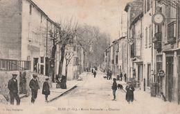 ELNE (66) - Route Nationale - 4 Chemins  ( En L' état) - Elne
