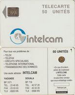 23/ Cameroon; P4. White - Logo, 50 Ut., SC4 Afnor, CN 16767 - Camerún
