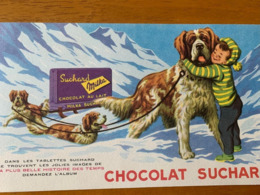 1 BUVARD CHOCOLAT SUCHARD - Kakao & Schokolade