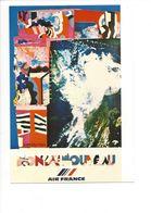 26111 - Roger Bezombes Vie Du Monde Monde Nouveau Edition Air France (format 10X15) - Autres Illustrateurs