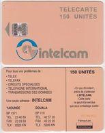 30/ Cameroon; P18. Orange - Logo, 150 Ut., SC7, CN Yellow - Cameroon