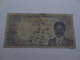 1000 Francs Gabon 01-01-1987 - Gabon
