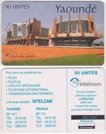 31/ Cameroon; P19. Yaoundé, Intelcam - Camerún