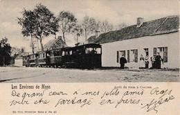 Les Environs De Mons Arrêt Du TRAM à Casteau - Le Roeulx