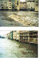 D81  CASTRES Crue De L'Agoût Du 17/12/1995  Lot De 7 CPM État Luxe - Castres
