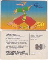 """32/ Cape Verde; P16. """"Só Sá Bi"""" 1999 - Kaapverdische Eilanden"""