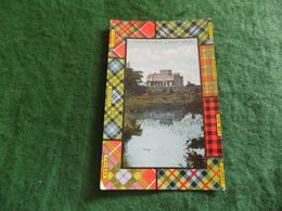 VINTAGE UK SCOTLAND: ANNAN Kinmount House South Front Tint Tartan 1910 Valentines - Dumfriesshire