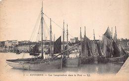 AUDIERNE  - Les Langoustiers Dans Le Port - Audierne