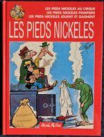 René Pellos / Corrald - Les Pieds Nickelés - ( Album 3 Récits ) - France Loisirs - ( 1997 ) . - Pieds Nickelés, Les