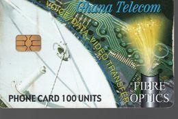 Télécarte GHANA - PHONE CARD 100 UNITS - Ghana