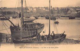 AUDIERNE  - Le Port Vu De SAINT JULIEN Animée - Audierne