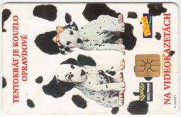 CZECH REP. C-080 Chip Telecom - Cinema, Walt Disney, 101 Dalmatians - Used - Czech Republic