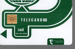 MALTE - TELECARD 60 Vert Foncé - Malte