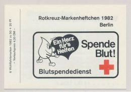 Berlin 1982 Nobel Red Cross Croix Rouge Booklet Carnet MNH - Prix Nobel