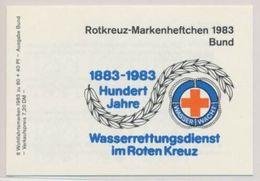 Allemagne 1983 Nobel Red Cross Croix Rouge Booklet Carnet MNH - Prix Nobel