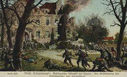 KAMPFE BEI YPERN   1914/15  WWI WWICOLLECTION - Ieper