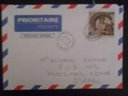 France Lettre De Sallanches 2000 Pour Nes-ziona - France