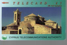 Télécarte CHYPRE -TELECARD £ 3 - Cyprus