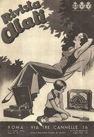 """8369"""" RIVISTA ALATI-ROMA-ANNO III N°7-LUGLIO 1935""""4 PAGINE + COPERTINE-ORIGINALE - Littérature & Schémas"""