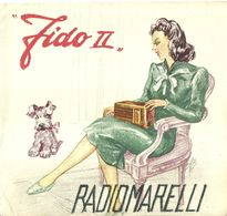 "8370"" FIDO II-RADIOMARELLI-SUPERETERODINA A 5 VALVOLE-ONDE MEDIE""4 PAGINE -ORIGINALE 1940 - Literature & Schemes"