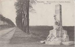 CPA - VÉLIZY-VILLACOUBLAY (YVELINES) - MONUMENT TARRON - CAPITAINE AVIATEUR TUÉ EN 1911 - Velizy
