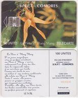 44/ Comoros; P8. Ylang Ylang Flower, CN Yellow - Comore