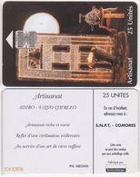 45/ Comoros; P13. Artisanat, CN Yellow - Comore