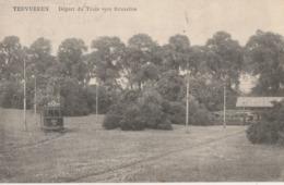 Tervueren , Départ Du Train Pour Bruxelles  ,( Tram , Tramway ) - Tervuren