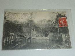 VARADES - CHATEAU DE LA MADELEINE - INONDATIONS DE DECEMBRE 1910 - 44 LOIRE ATLANTIQUE (CM) - Varades