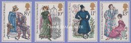 GREAT BRITAIN 1975  JANE AUSTEN  S.G. 989-992  U.M. - 1952-.... (Elizabeth II)