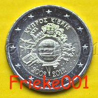 Cyprus - Chypre - 2 Euro 2012 Comm.(10 Jaar Euro Cash) - Chipre