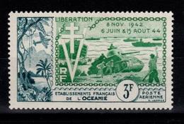 Oceanie - YV PA 31 N** Liberation Cote 9+ Euros - Poste Aérienne