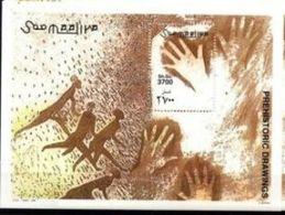 Somalie Prehistory Prehistoire Peintures Rupestres MNH - Preistoria