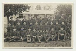 Carte Photo De Soldats éclaireurs Chasseurs Alpins - Militaire - Guerra, Militares