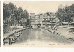 CPA ,D.11 , Narbonne , Le Pont Sur Le Canal Ed. D. - Narbonne