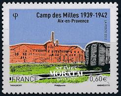 2012 France  Sc# 4277  ** MNH Very Nice. Camp Des Milles (Scott)  Tourism - France